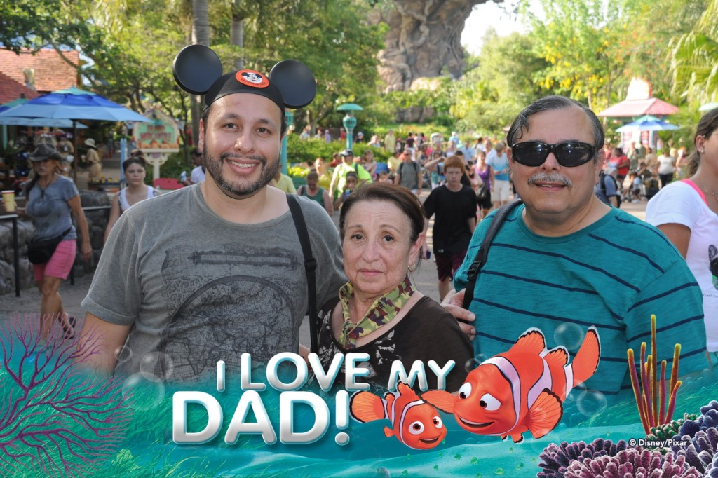 With my folks at Animal Kingdom